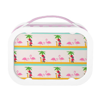 Minnie | Minnie's Tropical Pattern Lunchboxes