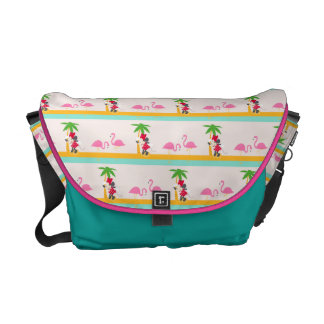 Minnie | Minnie's Tropical Pattern Messenger Bag