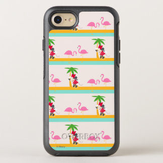 Minnie | Minnie's Tropical Pattern OtterBox Symmetry iPhone 7 Case