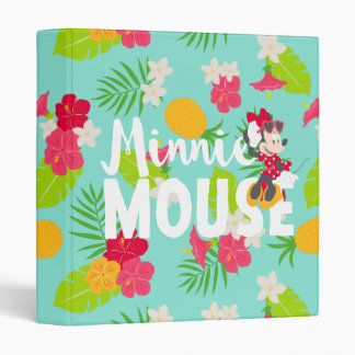 Minnie | Minnie's Tropical Pose 3 Ring Binder