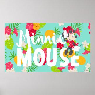 Minnie | Minnie's Tropical Pose 4 Poster
