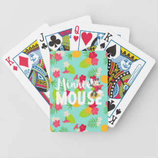 Minnie | Minnie's Tropical Pose Bicycle Playing Cards
