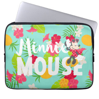 Minnie | Minnie's Tropical Pose Laptop Sleeve