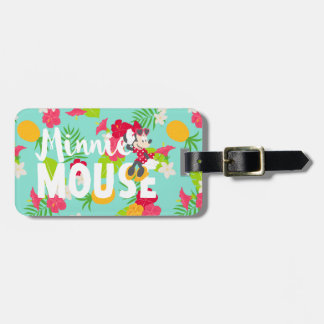 Minnie | Minnie's Tropical Pose Luggage Tag