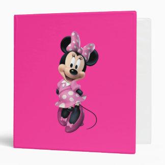 Minnie Mouse 3 Vinyl Binders