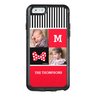 Minnie Mouse Bow | Add Photos & Monogram OtterBox iPhone 6/6s Case