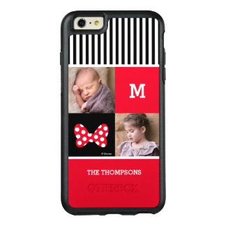 Minnie Mouse Bow | Add Photos & Monogram OtterBox iPhone 6/6s Plus Case