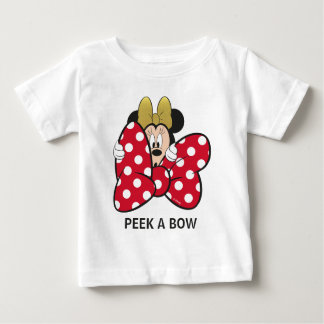 Minnie Mouse | Bow Tie Baby T-Shirt