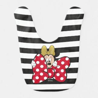 Minnie Mouse | Bow Tie Bib
