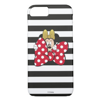Minnie Mouse   Bow Tie iPhone 8/7 Case