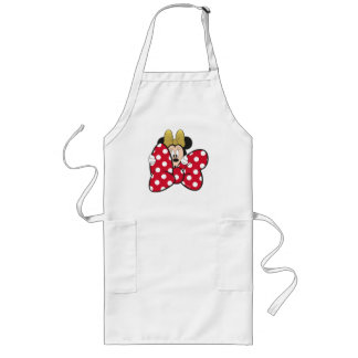 Minnie Mouse | Bow Tie Long Apron