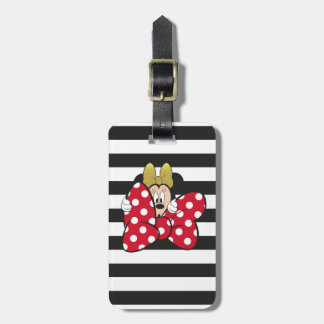 Minnie Mouse | Bow Tie Luggage Tag