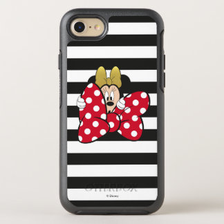 Minnie Mouse | Bow Tie OtterBox Symmetry iPhone 8/7 Case