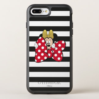 Minnie Mouse | Bow Tie OtterBox Symmetry iPhone 8 Plus/7 Plus Case