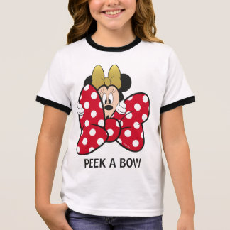 Minnie Mouse | Bow Tie Ringer T-Shirt