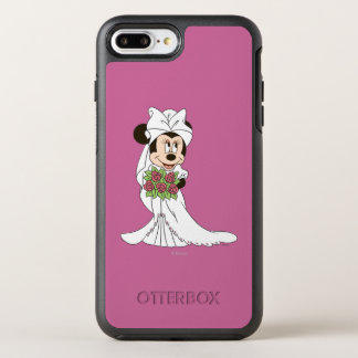 Minnie Mouse   Bride at Wedding OtterBox Symmetry iPhone 7 Plus Case