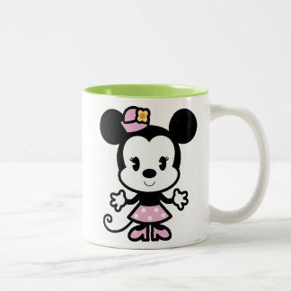 Minnie Mouse Cartoon Two-Tone Coffee Mug