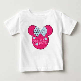 Minnie Mouse | Cute as a Button Baby T-Shirt