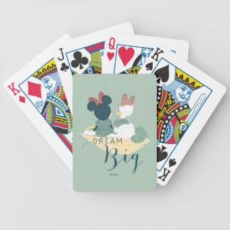 Minnie Mouse & Daisy Duck | Dream Big Bicycle Playing Cards