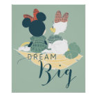 Minnie Mouse & Daisy Duck   Dream Big Poster
