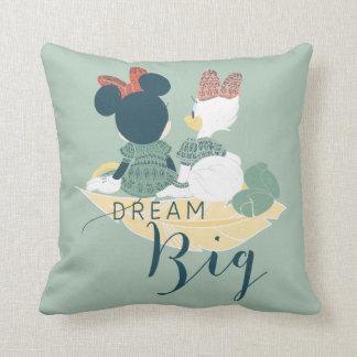 Minnie Mouse & Daisy Duck | Dream Big Throw Pillow