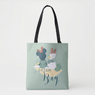 Minnie Mouse & Daisy Duck | Dream Big Tote Bag