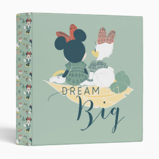 Minnie Mouse & Daisy Duck | Dream Big Vinyl Binder