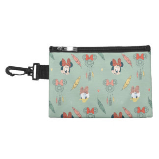 Minnie Mouse & Daisy Duck | Dream Catcher Pattern Accessory Bag