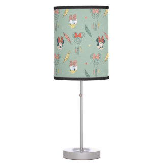 Minnie Mouse & Daisy Duck | Dream Catcher Pattern Desk Lamps