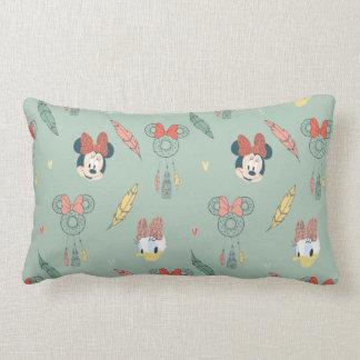 Minnie Mouse & Daisy Duck | Dream Catcher Pattern Lumbar Pillow