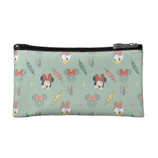 Minnie Mouse & Daisy Duck | Dream Catcher Pattern Makeup Bag