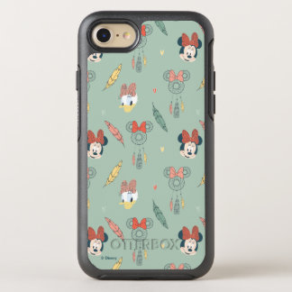 Minnie Mouse & Daisy Duck | Dream Catcher Pattern OtterBox Symmetry iPhone 7 Case