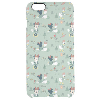 Minnie Mouse & Daisy Duck | Let's Get Away Pattern Clear iPhone 6 Plus Case