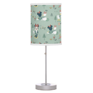 Minnie Mouse & Daisy Duck | Let's Get Away Pattern Desk Lamps