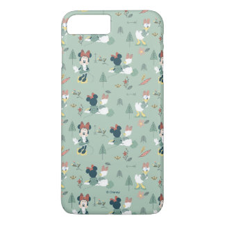 Minnie Mouse & Daisy Duck | Let's Get Away Pattern iPhone 7 Plus Case