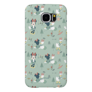 Minnie Mouse & Daisy Duck | Let's Get Away Pattern Samsung Galaxy S6 Cases