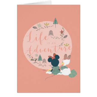 Minnie Mouse & Daisy Duck | Life is an Adventure Card