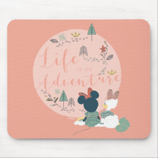Minnie Mouse & Daisy Duck | Life is an Adventure Mouse Pad