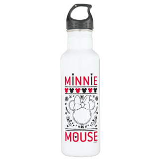Minnie Mouse | Decoration Pattern 710 Ml Water Bottle
