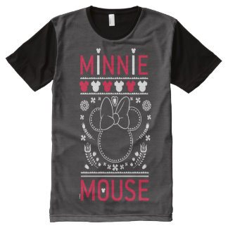 Minnie Mouse | Decoration Pattern All-Over-Print T-Shirt