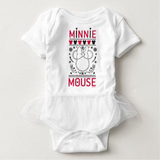 Minnie Mouse | Decoration Pattern Baby Bodysuit