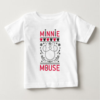 Minnie Mouse | Decoration Pattern Baby T-Shirt