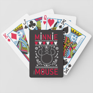 Minnie Mouse | Decoration Pattern Bicycle Playing Cards