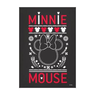 Minnie Mouse | Decoration Pattern Canvas Print