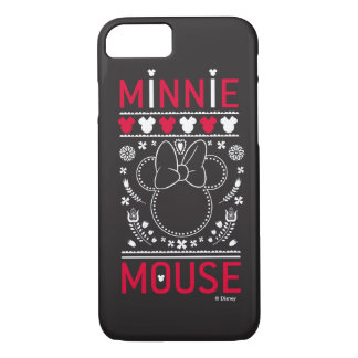 Minnie Mouse   Decoration Pattern iPhone 8/7 Case