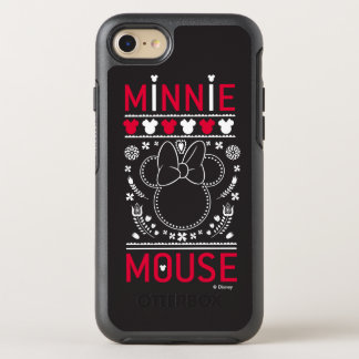 Minnie Mouse | Decoration Pattern OtterBox Symmetry iPhone 7 Case