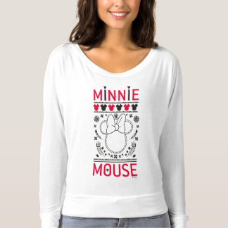 Minnie Mouse | Decoration Pattern T-shirt