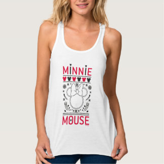 Minnie Mouse | Decoration Pattern Tank Top