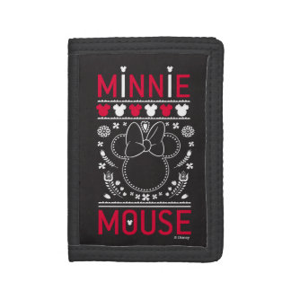 Minnie Mouse | Decoration Pattern Trifold Wallet