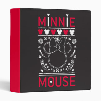 Minnie Mouse | Decoration Pattern Vinyl Binder